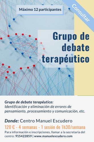 Grupo de debate terapéutico